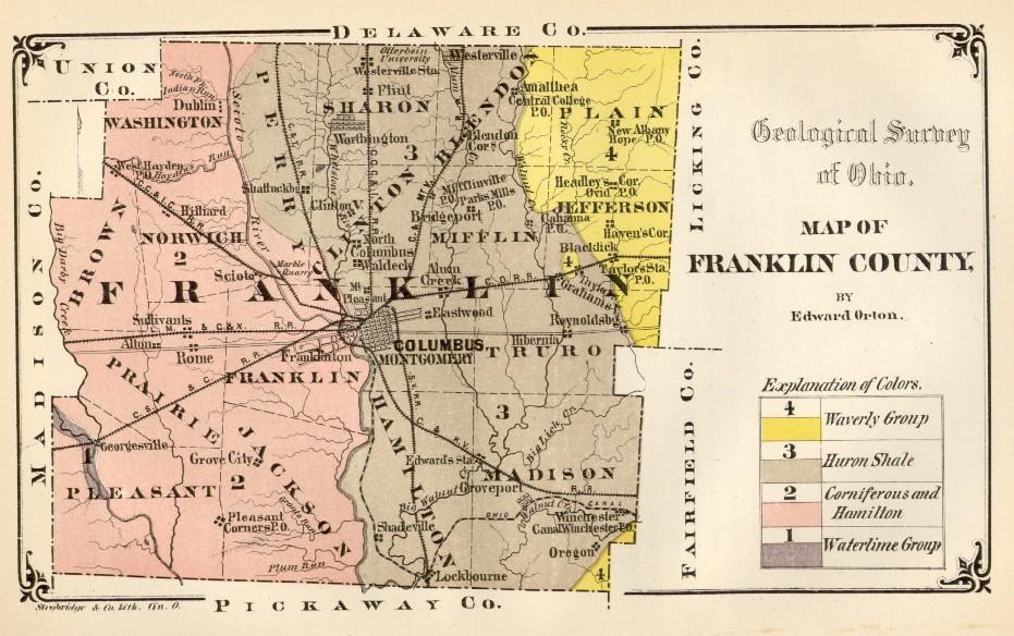 Franklin County Ohio History Genealogy Franklin County Ohio